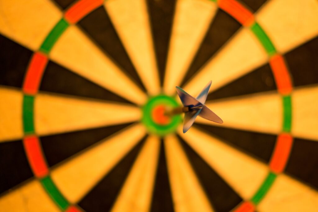 bulls-eye-1044725_1920 by Rudy and Peter Skitterians